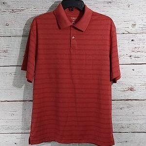 Haggar | Mens Collared Polo Shirt Sz M
